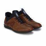 Alberto Torresi Azel Brown Shoes. Price – Rs. 3,695