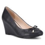 Bata Insolia_Black Wedge Heels_Rs. 2499