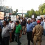 Shoe Industry protest 1