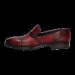 Loafer in Red bugatti men 318-16762-4100-3000_002