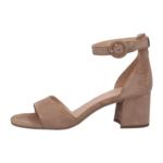Taupe ankle strap heels bugatti women 411-67985-3400-1400_002